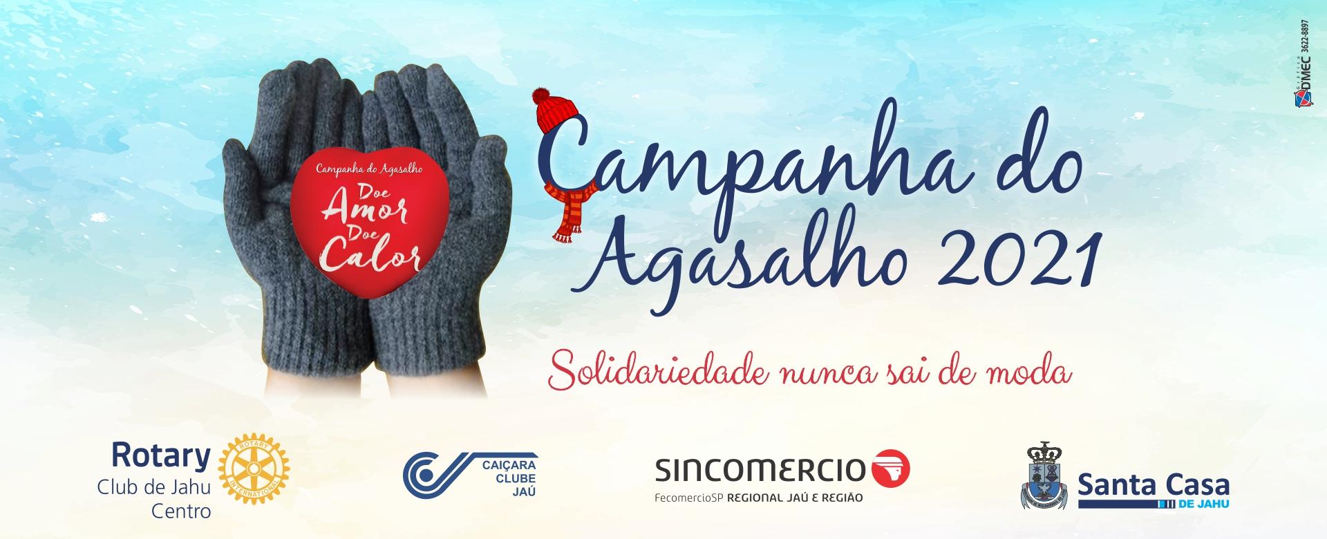 Campanha do Agasalho 2021: Doe, ajude, participe!